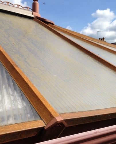 conservatory roof before