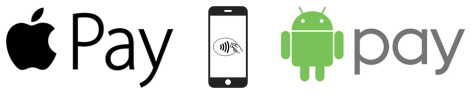 We Accept Apple / Android Pay