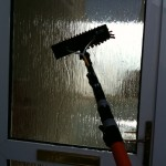 door cleaning